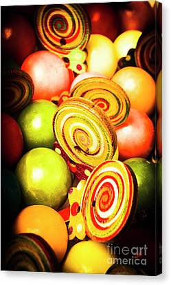 Gumdrops And Candy Pops  Canvas Print by Jorgo Photography - Wall Art Gallery