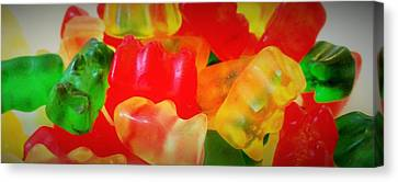 Gummies Canvas Print