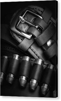 Gunbelt Canvas Print by Tom Mc Nemar