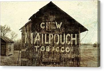 Gunge Mail Pouch Tobacco Barn Canvas Print