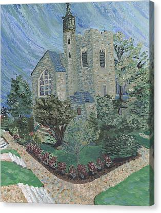 Gunnison Chapel In The Last Days Of Summer Canvas Print