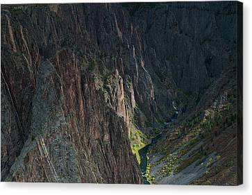 Gunnison River Canvas Print by Joseph Smith