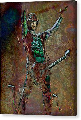 Performers Canvas Print - Guns N' Roses Lead Guitarist Dj Ashba by Loriental Photography
