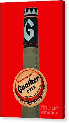 Gunther Beer Canvas Print by Jost Houk
