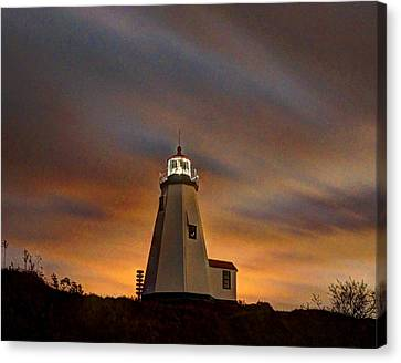 Gurnet Light 001 Canvas Print
