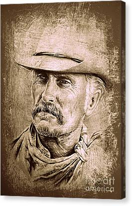 Gus Mccrae Canvas Print by Andrew Read