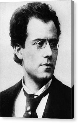 Gustav Mahler Canvas Print by Austrian School