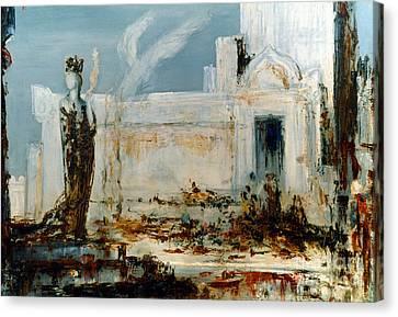 Gustave Moreau: Helene Canvas Print by Granger