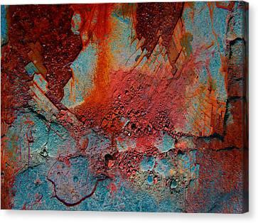 Gutters That Speak  Canvas Print