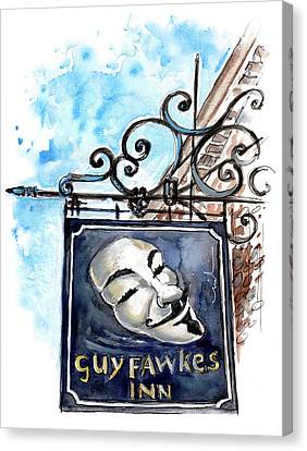 Guy Fawkes Inn In York Canvas Print