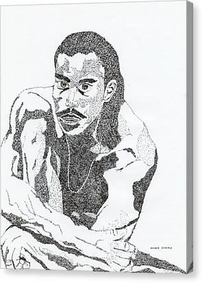 Guy Canvas Print