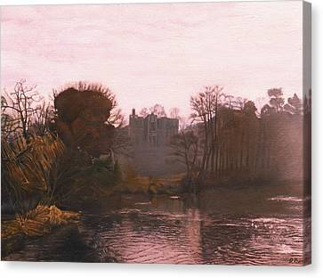 Guys Cliffe House Warwick England Canvas Print