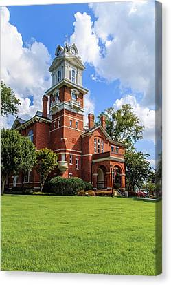 Gwinnett County Historic Courthouse Canvas Print