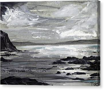 Canvas Print - Gwithian Sands by Keran Sunaski Gilmore