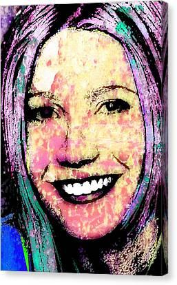 Gwyneth Paltrow Canvas Print by Otis Porritt