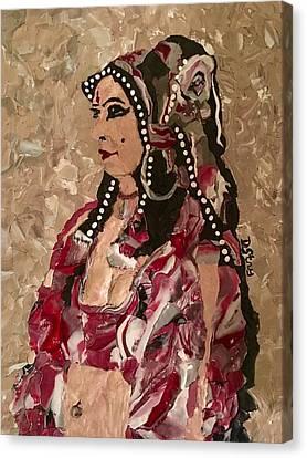 Gypsy Dancer Canvas Print