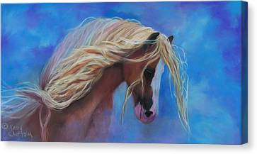 Gypsy In The Wind Canvas Print