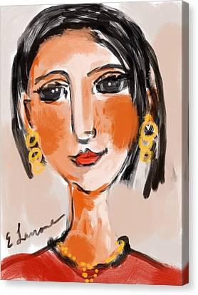 Gypsy Lady Canvas Print