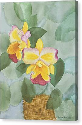 Gypsy Orchids Canvas Print