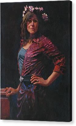 Gypsy Canvas Print by Robert Bissett