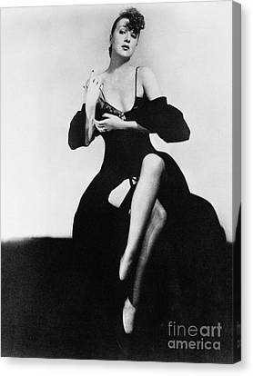 Gypsy Rose Lee (1913-1970) Canvas Print by Granger