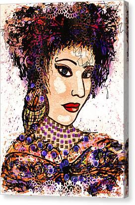 Gypsy Canvas Print - Gypsy Soul by Natalie Holland