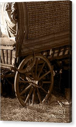 Gypsy Wagon Canvas Print by Jorgo Photography - Wall Art Gallery