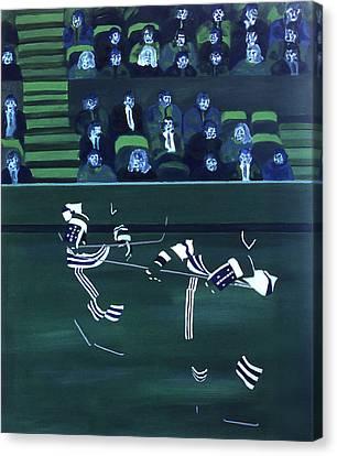 H W Canvas Print by Ken Yackel