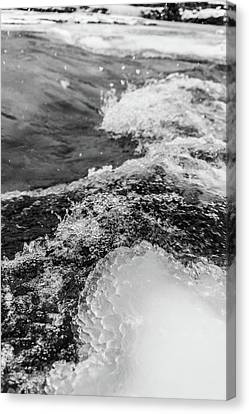 Canvas Print featuring the photograph H2O by Alex Lapidus