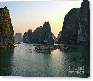 Ha Long Bay Canvas Print by Eena Bo