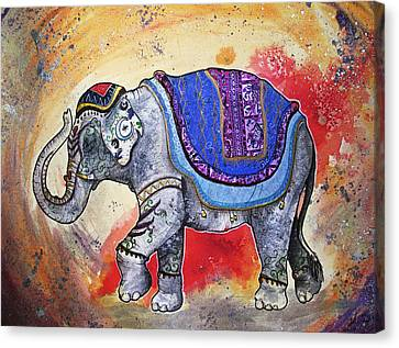 Haathi  Canvas Print by Sydney Gregory