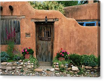 Hacienda Santa Fe Canvas Print