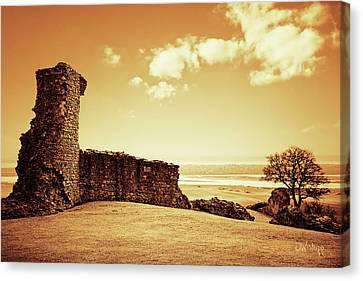 Hadleigh Castle Canvas Print