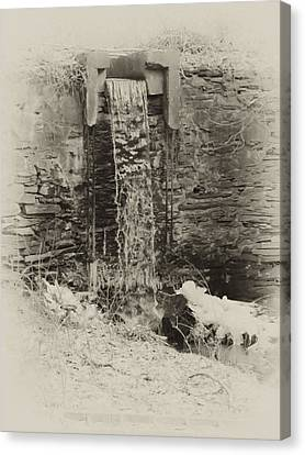Hagys Mill Canvas Print by Bill Cannon