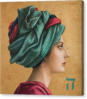 HAI Canvas Print by Jose Luis Munoz Luque