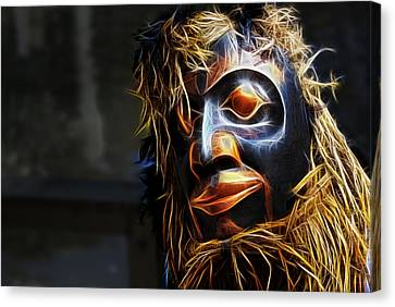 Haida Head Canvas Print by Cameron Wood