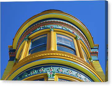 Haight Ashbury Painted Victorian Canvas Print