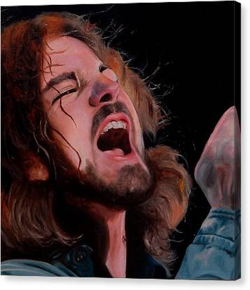 Hail Hail Canvas Print by Jena Rockwood