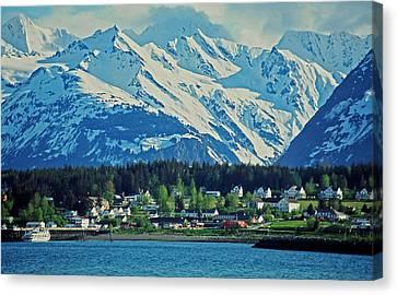 Haines - Alaska Canvas Print by Juergen Weiss