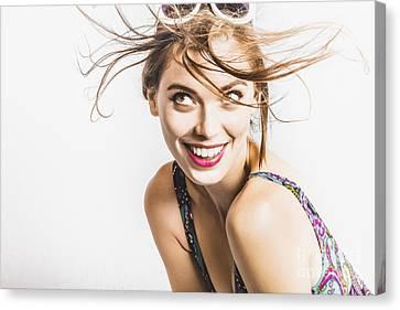 Hair Salon Portrait Canvas Print by Jorgo Photography - Wall Art Gallery