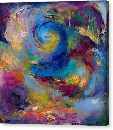 Expressionistic Canvas Print - Halcyon Winds by Johnathan Harris