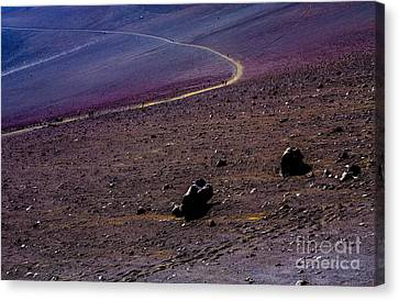 Canvas Print featuring the photograph Haleakala 2 by M G Whittingham