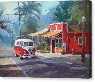 Oahu Canvas Print - Haleiwa by Richard Robinson