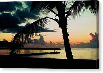 Haleiwa Canvas Print by Steven Sparks
