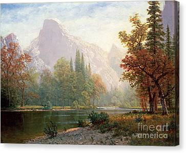 Half Dome Canvas Print by Celestial Images