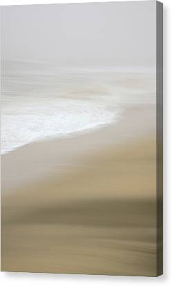Canvas Print featuring the photograph Half Moon Bay - Impressions by Francesco Emanuele Carucci