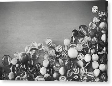 Half My Marbles Canvas Print by Scott Norris