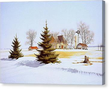 Halfway Into January Canvas Print by Conrad Mieschke