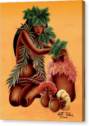 Hali'a    Canvas Print by Keith Tucker