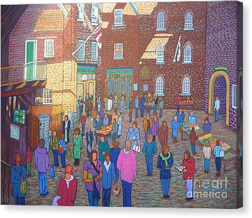Halifax Farm Market Canvas Print